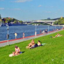 Московские пляжи оставили закрытыми из-за коронавируса