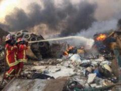 В Бейруте в порту прогремел мощный взрыв.